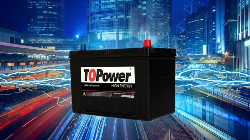 Baterías Topower
