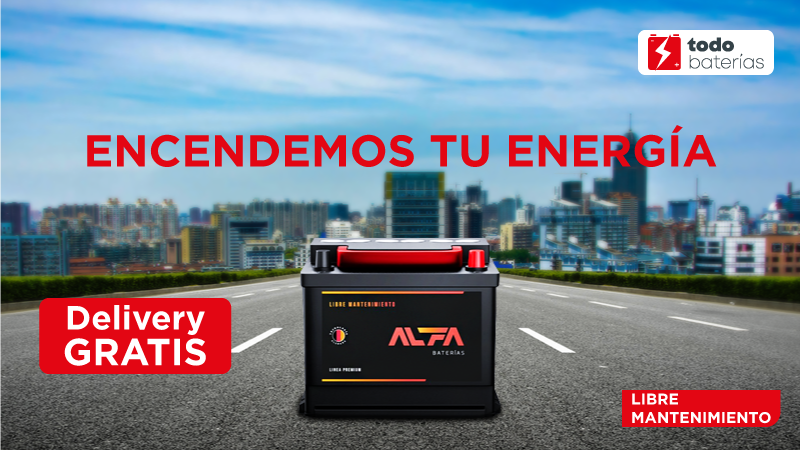 Baterías Alfa Delivery