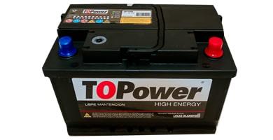 bateria de auto topower 15 placas